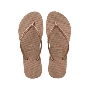 Havaianas tong femme slim gold rose