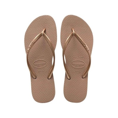 Havaianas flip flop woman slim gold rose