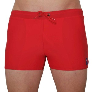 Icu red trunk swimwear for men