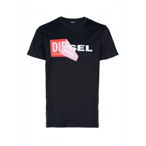 Diesel black t-shirt with logo
