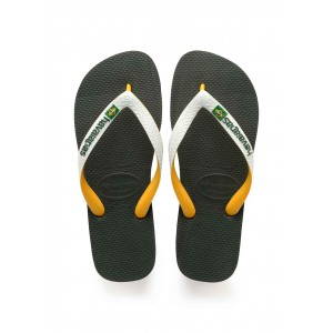 Havaianas brasil mix olive green