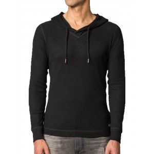 Hoodies Diesel black coton sweatshirt